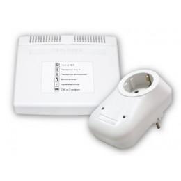 Теплоинформатор Teplocom GSM Pro с радио управляемой розеткой