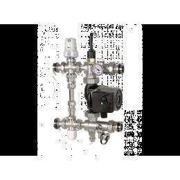 Icma M055 25/40 Смесительная группа с насосом Grundfos UPSO25-40 130