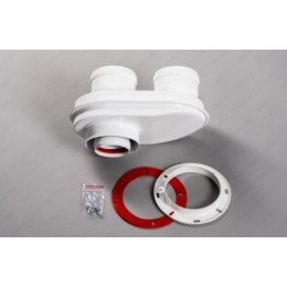 Адаптер моноблочный (разделитель) D80/80 Bosch Buderus Protherm Jaguar