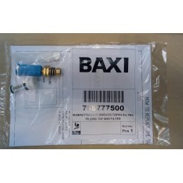 Кран заполнения с фильтром Baxi Eco Luna