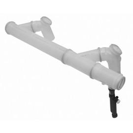 Дымоотв. комплект полипропиленовый для 2-х котлов диам. 160 мм, HT Baxi (7107152)