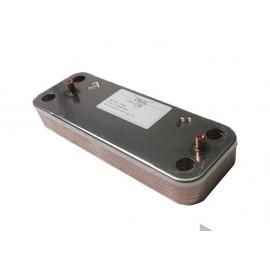 5686660 теплообменник вторичный ГВС baxi