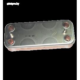 17B1901200 теплообменник вторичный гвс beretta